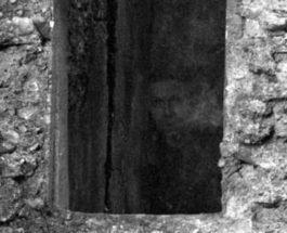 призрак,лицо,Шотландия,развалины,