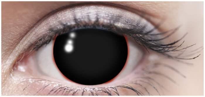 радужная оболочка,черные глаза,