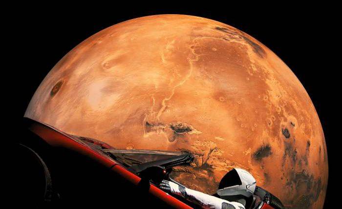 тесла марс