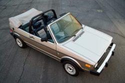 Volkswagen Cabriolet Wolfsburg Edition 1985 года выставлен на аукцион