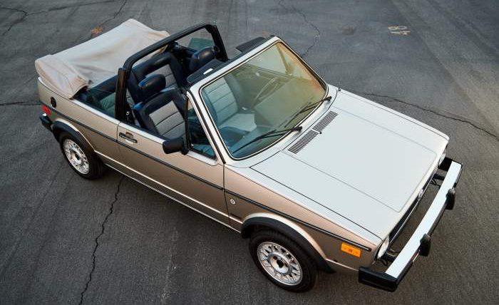 Volkswagen Cabriolet Wolfsburg Edition,