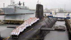 В Великобритании пьяный офицер попытался взять под свой контроль подводную лодку с ядерным оружием