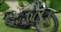 В Черкассах продается Harley-Davidson WLA 42 времен Второй Мировой