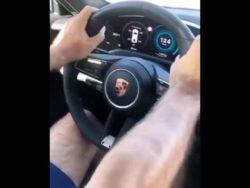 Разбили новый Porsche за 150 тысяч евро сразу после покупки (ВИДЕО)