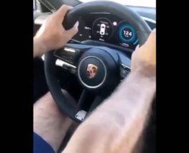 Porsche Taycan Turbo, Турция, разбили,