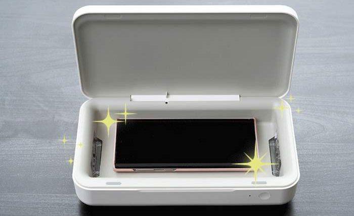 УФ-стерилизатор, Samsung, бактерии,
