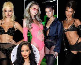 Savage X Fenty,модели,Рианна,Ирина Шейк,Уиллоу Смит,Кара Делевин,