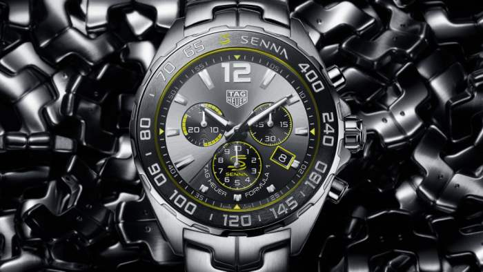 TAG Heuer F1, часы, Senna,Айртон Сенна,