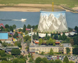 Wunderland Kalkar,Германия,тематический парк,ядерный реактор,