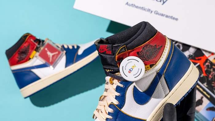 eBay,кроссовки,аутентификация,