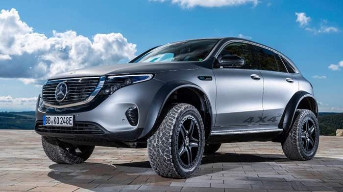 Mercedes-Benz EQC 4×4,концепт,внедорожник,