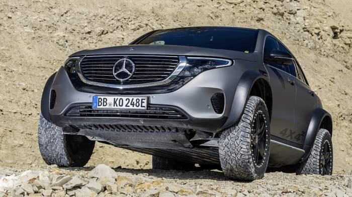 Mercedes-Benz EQC 4×4