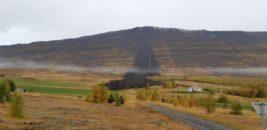 оползень,Исландия,
