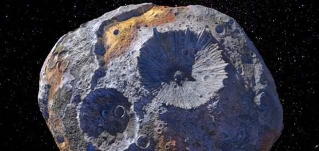 астероид, 16 психея,