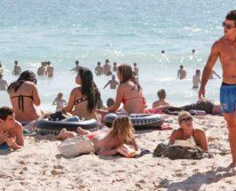 Австралия, пляж,