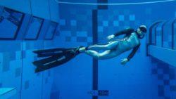 Самый глубокий бассейн в мире распахнул свои двери