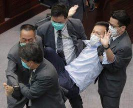 Гонконг, депутаты,парламент, оппозиция,