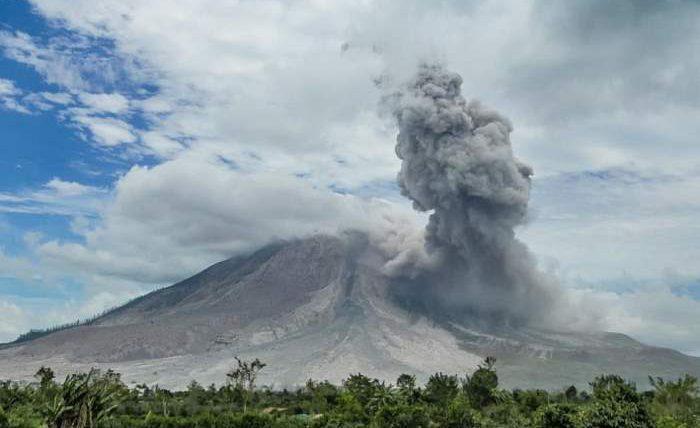 Индонезия, вулкан, извержение,