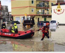 Италия, наводнение,