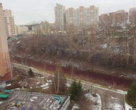 Кемерово, река, красная река,