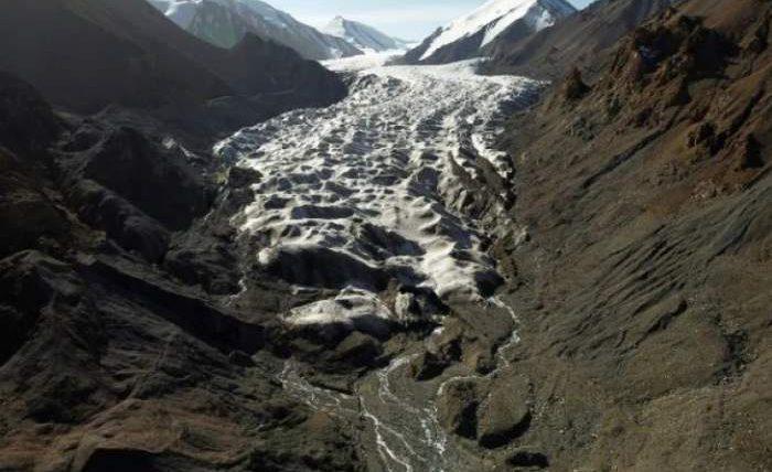 Китай ледники