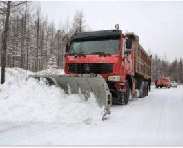 Китай, снег,