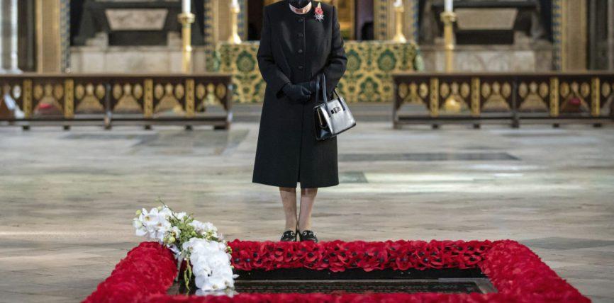 Королева, Великобритания, Елизавета, маска,