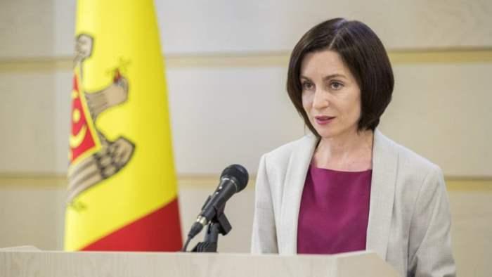 Майя Санду, Молдова, кандидат,