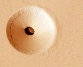 Марс, Полая гора,