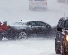 Монтана,снег,снежный шторм,