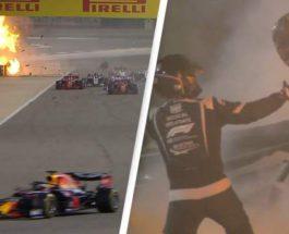 Роман Грожан авария Формула 1