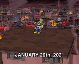 Симпсоны, январь 2021, 4 серия 32 сезона,