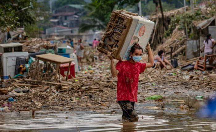 Тайфун, Вамко, Филиппины,