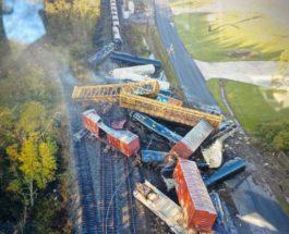 Техас, поезд, крушение поезда,