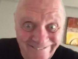 Энтони Хопкинс напугал всех в сети зловещим ВИДЕО