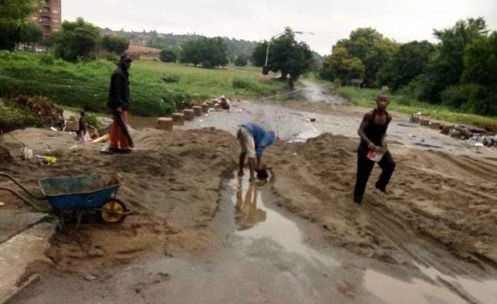 Южная Африка, наводнения,