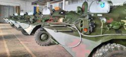 Украинская армия получила новую партию модернизированных бронетранспортеров БТР-80