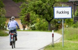 деревня, Австрия, Fugging, Fucking,