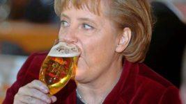 пивоварня, Меркель,черный список, протесты, Мюнхен, Бавария,