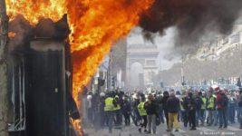 протесты париж