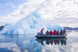 река, лед, Гренландия,