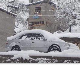 снег, Пакистан, снегопад,