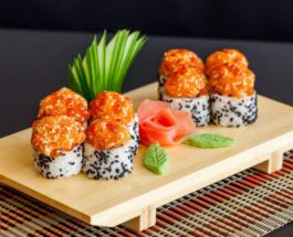 суши, роллы,