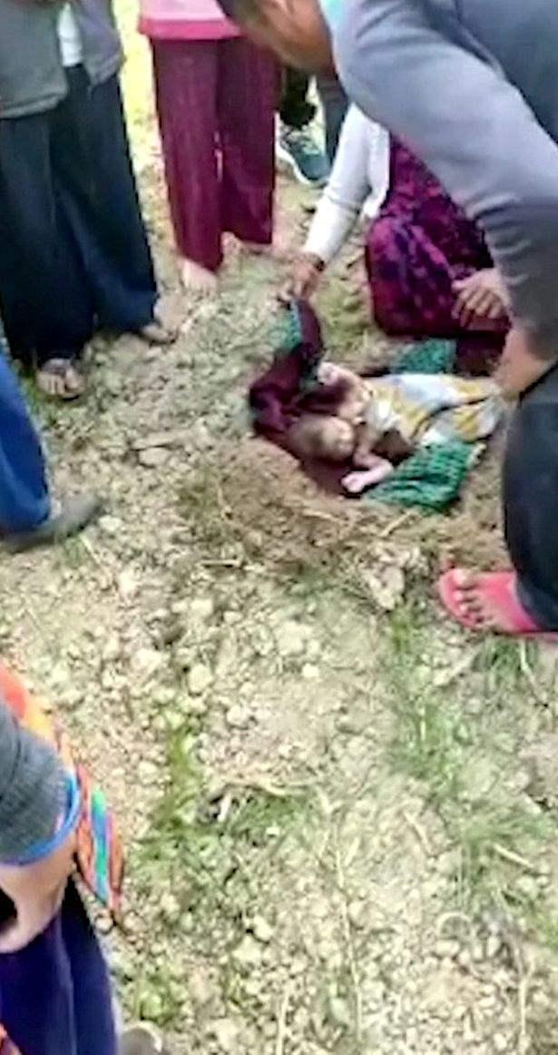 Индия, ребенок, заживо похороненный,