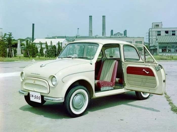 Mitsubishi 500, авто, японские авто,
