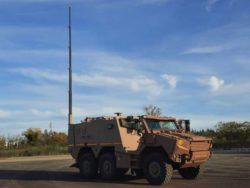Французская армия получила новую командно-штабную машину на базе ГРИФФОН