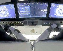 Crew Dragon, МКС,космонавты,