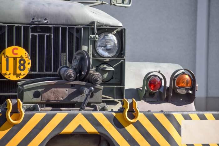 International Harvester M62, 1953 год,эвакуатор,США,военный эвакуатор,