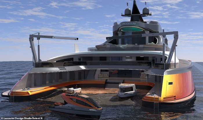 Prodigium,яхта, мега яхта,