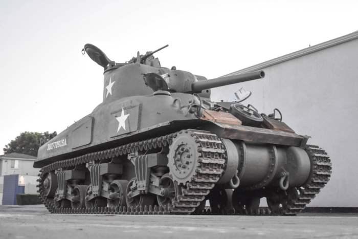 Sherman M4A1 Grizzly, 1943, Шерман, танк, аукцион,